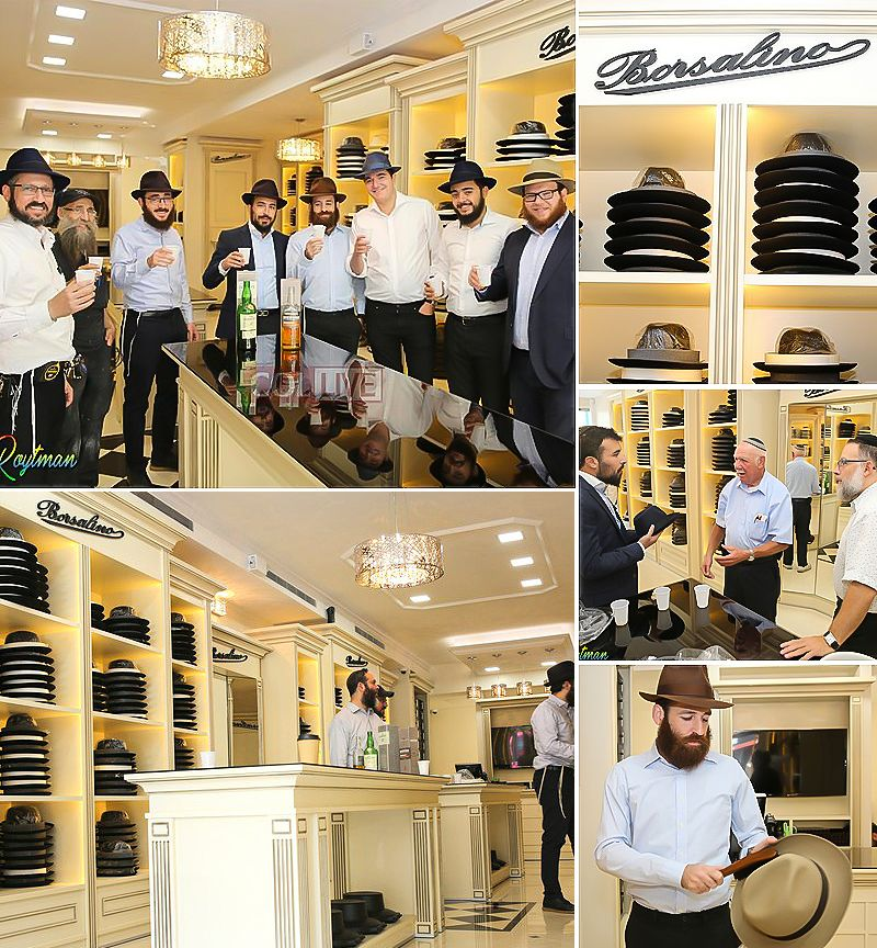 907bb336 At last: Decades after serving Lubavitchers with black fedoras, the Italian  hat maker is opening its first branch on Kingston Avenue. Full Story, Photos